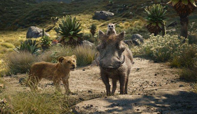Timon and Pumbaa teach Simba Hakuna Matata