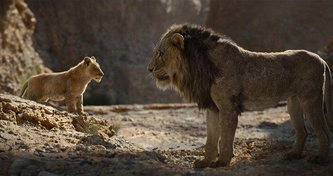 Scar lures Simba into the canyon