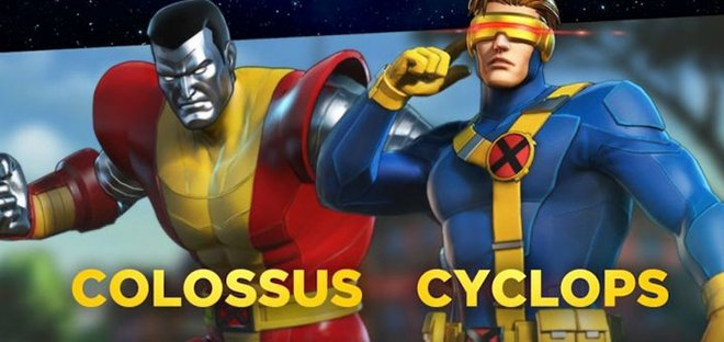 Colossus and Cyclops are the first new characters to be added to the game