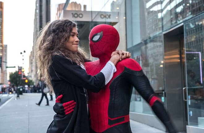 Spidey and MJ together...finally