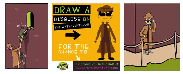 We know kids dream of becoming comic book artists - and we actually give you the chance!