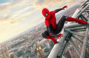 Spider-Man: Far From Home but Close to Theaters