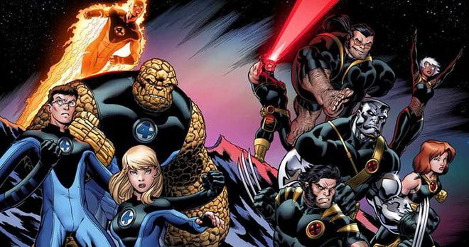 The Fantastic Four and the X-Men are bound to enter the MCU eventually