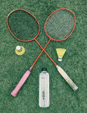 You can't go wrong with a game of badminton!