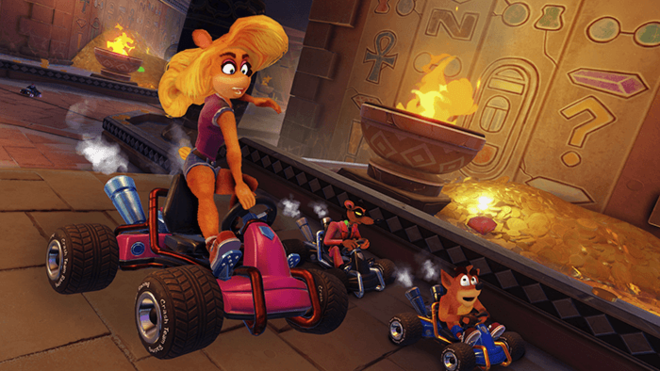 Tawna will be the first new character added to the Grand Prix mode