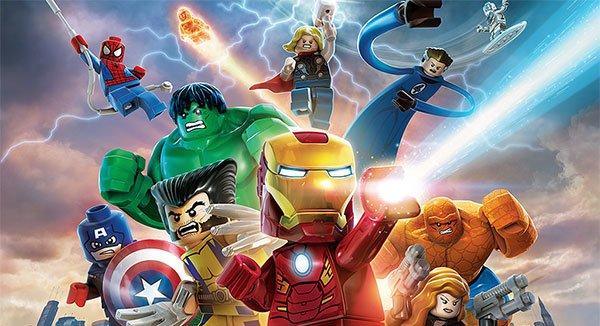 The amount of playable Marvel Minifigures is huge