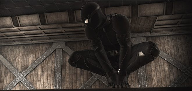 Stealth Suit in the shadows