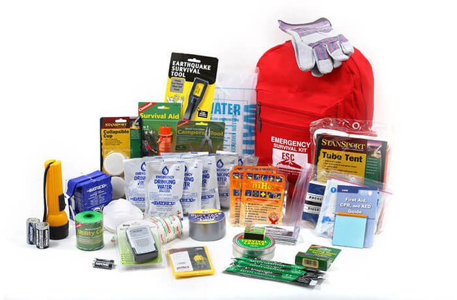 One-Person Standard Survival Kit