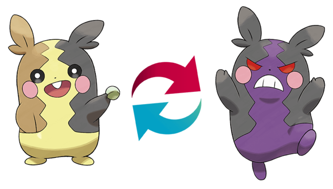 Morpeko is a Two-Sided Pokémon and changes forms depending on how hungry it is