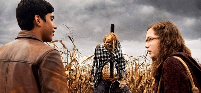 Ramon and Stella find the scarecrow