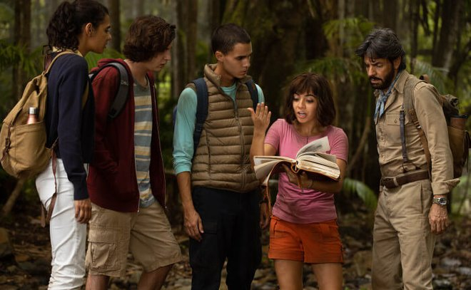 Dora finds clues in her parents' notes