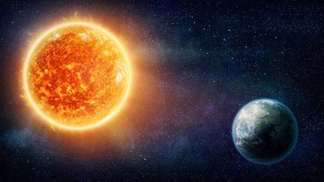 Какое расстояние от Земли до Солнца?