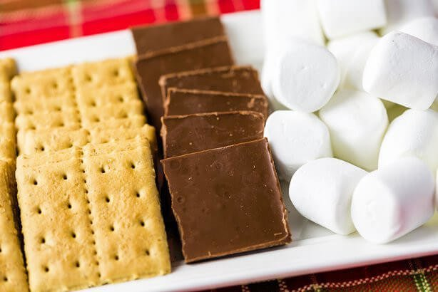 Have a s'mores party to sample these delicious ideas.